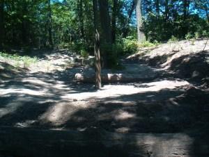 Snake Mound Centre Circle still intact July 03, 2011