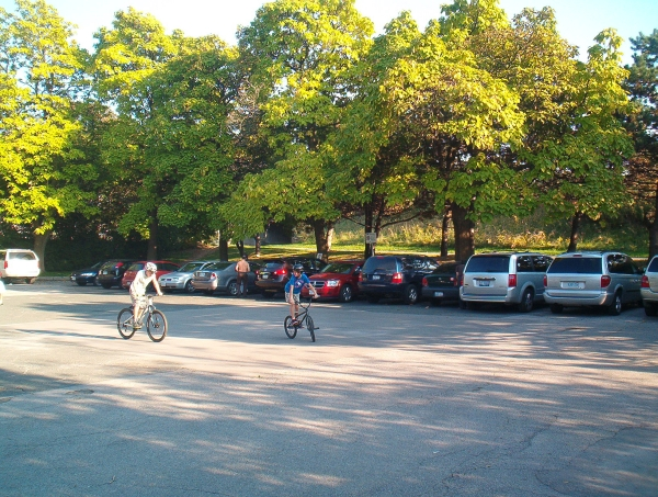 Spring Road Parking Lot 500 pm full Oct 09, 2011 a